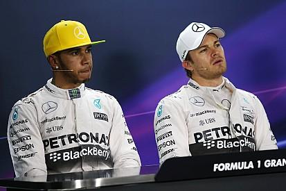 """Mercedes - """"Nous ne voulons pas décider qui finit premier ou deuxième"""""""