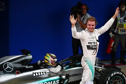 """Rosberg - """"Lewis a tué ses pneus en deux tours!"""""""