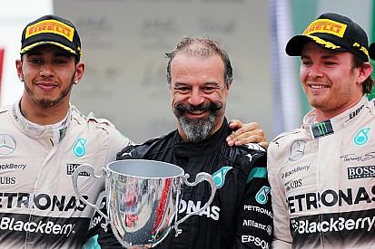 Hamilton y Rosberg, iguales a Senna y Prost, dice Mercedes