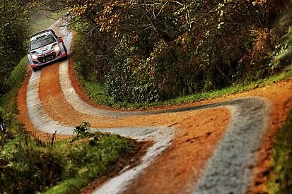 Meest spectaculaire foto's van de Rally van Wales