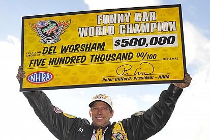 Worsham and Hines earn NHRA Mello Yello Series World Championship titles