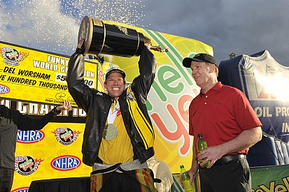 Final two champions crowned in NHRA finale