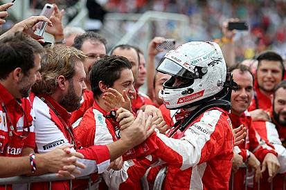 "Arrivabene: ""Vettel sa farsi volere bene dalla squadra"""