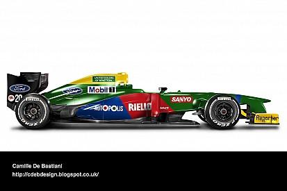 Photos - Des livrées rétro sur des F1 modernes!