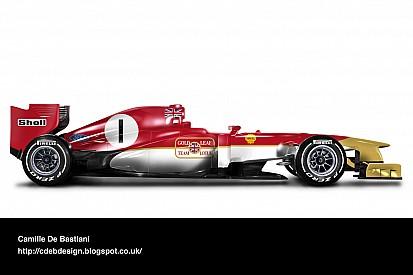 Fotostrecke: Legendäre Formel-1-Designs auf modernen Autos
