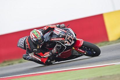 Hayden completes maiden WSBK test at Aragon