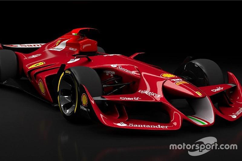 Confira carro-conceito de Fórmula 1 da Ferrari em simulador
