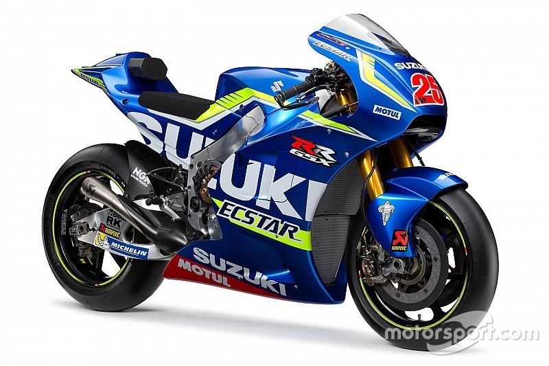 Suzuki präsentiert neues MotoGP-Bike für 2016