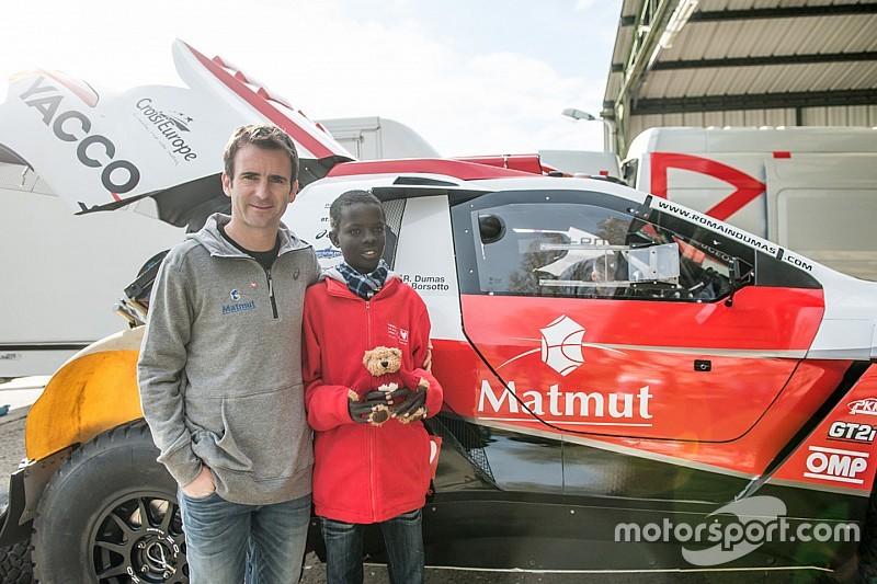Dumas alla Dakar 2016 su una Peugeot privata
