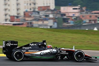 Force India vise la place de Williams en 2016