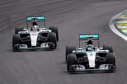 Coulthard - Hamilton et Rosberg doivent avoir carte blanche à Abu Dhabi