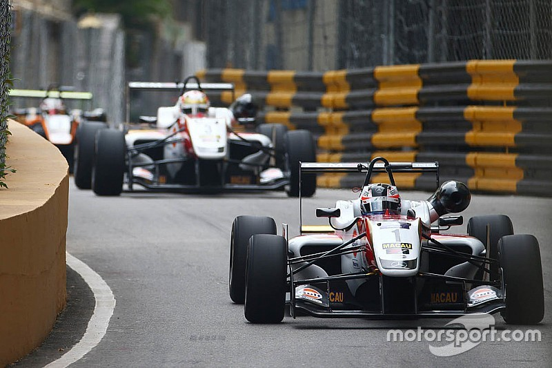 Macau GP: Rosenqvist storms to provisional pole