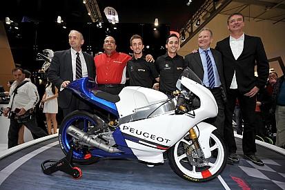 Presentata all'Eicma la Peugeot MGP30 per la Moto3