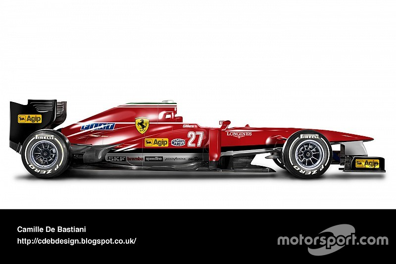 صور - ألوان الفرق القديمة الشهيرة على سيارة فورمولا واحد حديثة!