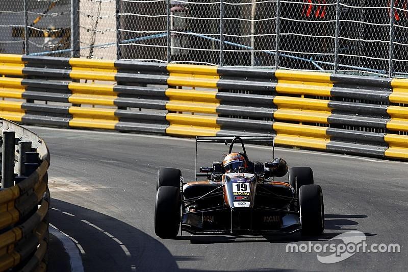 Macau GP: Pommer sets new practice benchmark