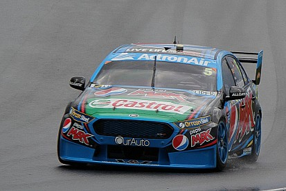 Phillip Island V8s: Winterbottom braves the wet to top FP2