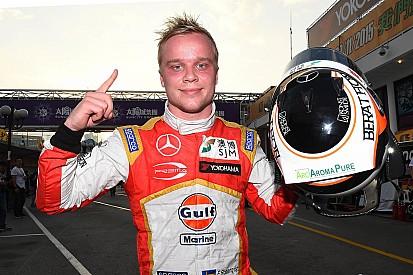 Macau GP: Rosenqvist holds off Juncadella to seal pole