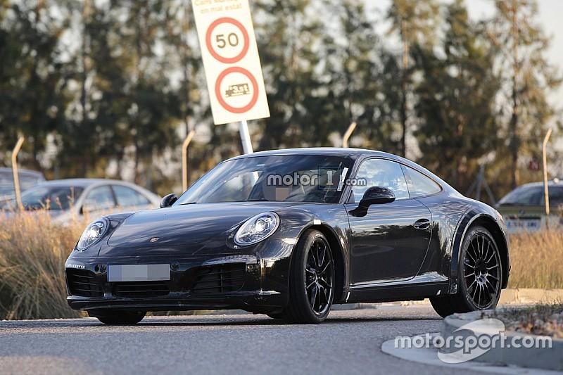 Exclu - Clichés espions de la Porsche 911 2018 laboratoire
