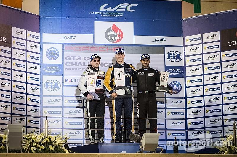 جيفري شميد يُحقّق الفوز للنابودة في السباق الافتتاحي في البحرين