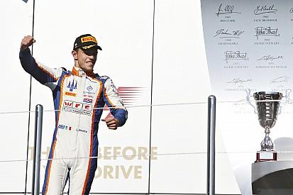 La victoire et la tête du championnat pour Ghiotto!
