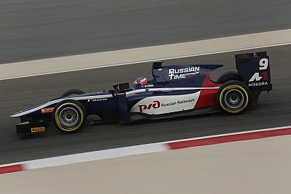 Evans wint GP2-sprintrace Bahrein, Vandoorne tweede