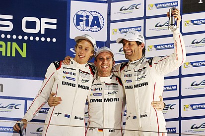 Bahrain WEC: Webber crowned world champion as Porsche prevails