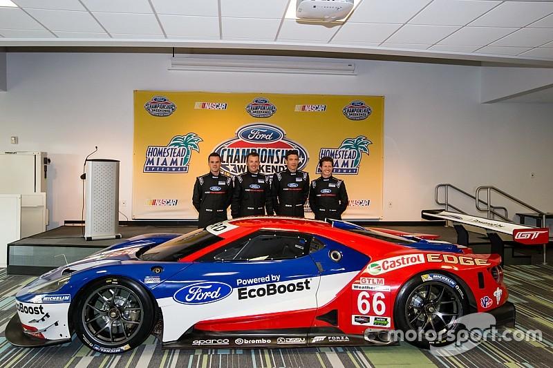 Ganassi nombra a sus pilotos para la temporada 2016 del Ford GT