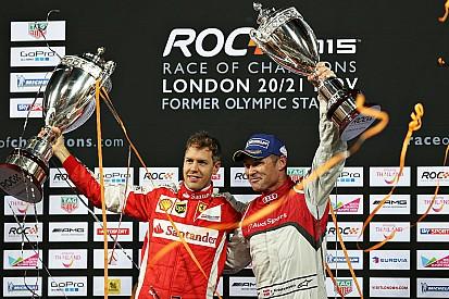 Vettel supera Kristensen e vence Race of Champions