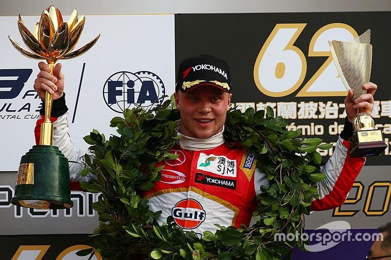Rosenqvist clinches second Macau win after Leclerc battle