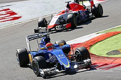 Sauber craint Manor et Haas pour 2016