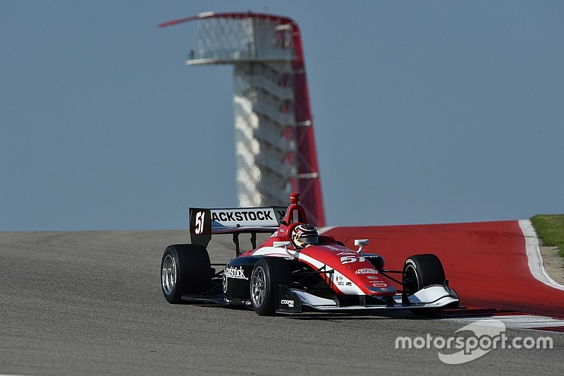 Canadian surprise in Indy Lights test; Jamin top in Pro Mazda; Lastochkin unbeatable