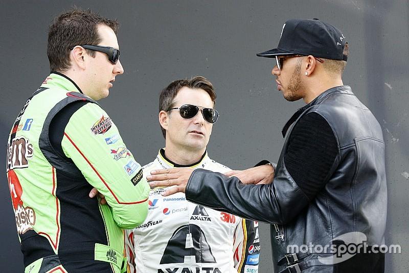 NASCAR em imagens: Hamilton, adeus de Gordon e Busch campeão