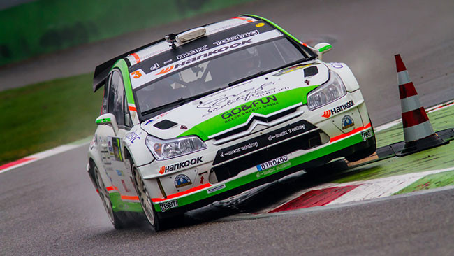 Anche Tobia Cavallini al Monza Rally Show 2015