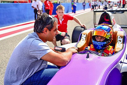 """Tatiana Calderon: """"It was exciting to have Montoya helping me!"""""""