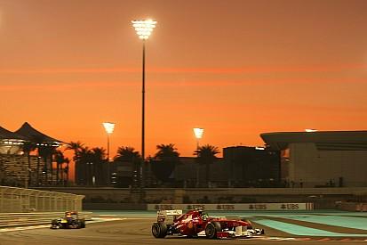 Crepúsculos, títulos e despedidas; veja imagens de Abu Dhabi