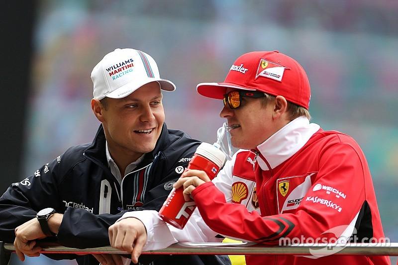 Bottas says beating Raikkonen is important