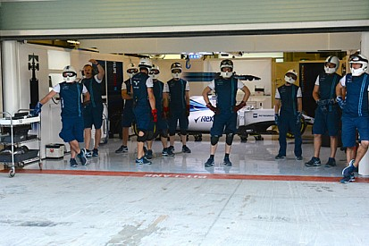 Williams: pit stop in assetto da gara già al giovedì
