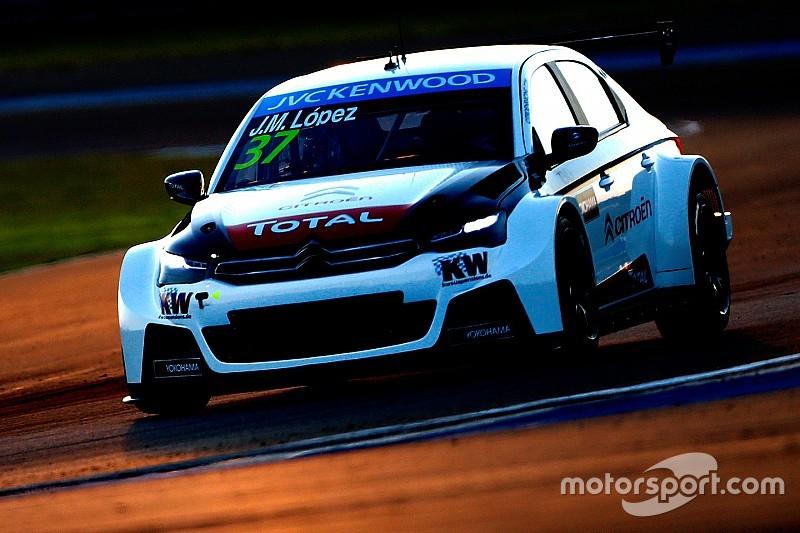 Jose Maria Lopez und Citroën dominieren erstes Nachttraining