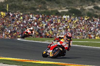 Marquez ancora in evidenza a Jerez, Laverty finisce ko