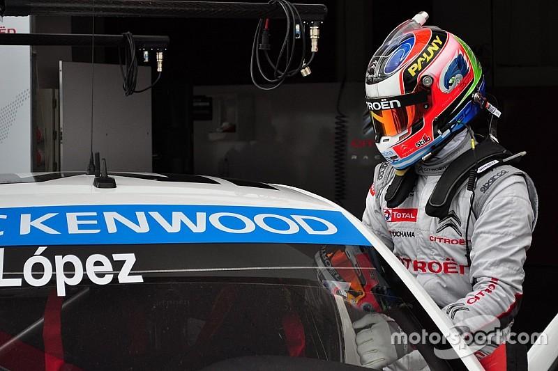 Citroën zum Dritten: Wieder WTCC-Bestzeit für Jose Maria Lopez in Katar