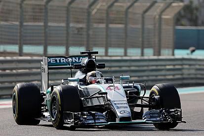 Abu Dhabi GP: Hamilton outpaces Rosberg in FP1