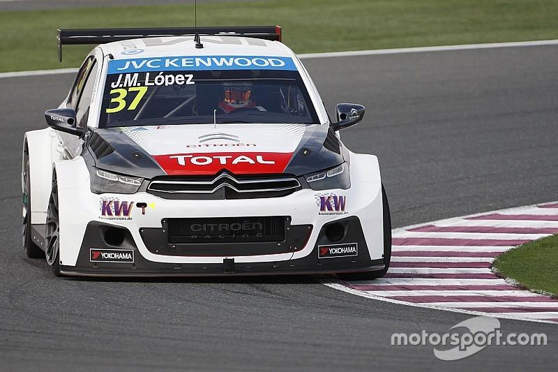 WTCC-Finale in Katar: Weltmeister Lopez auf der Pole-Position