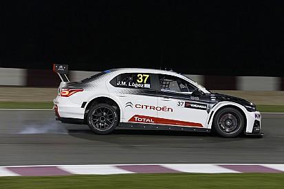 López wint WTCC race 1 in Qatar, Catsburg in toptien