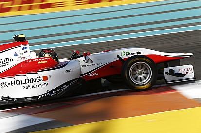 GP3-titelkandidaten in de fout, Kirchhofer wint eerste race Abu Dhabi