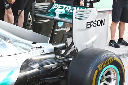 Mercedes: bocciato lo slot verticale della paratia