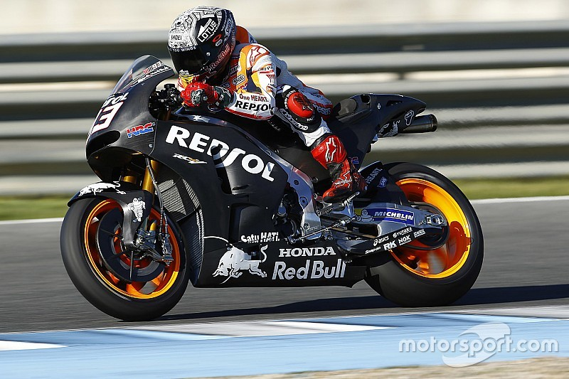 Marc Marquez mit zwei Stürzen beim letzten MotoGP-Test des Jahres