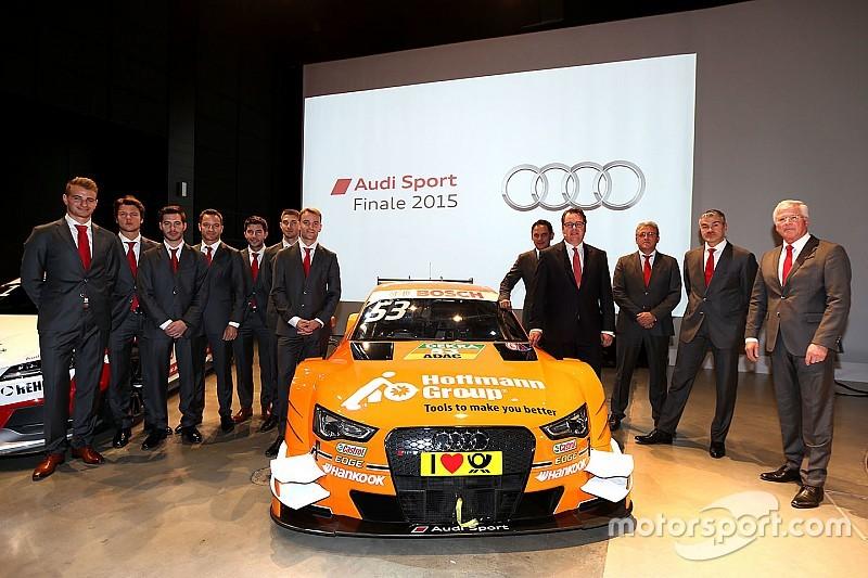 L'Audi ha confermato tutti i suoi piloti per il DTM 2016