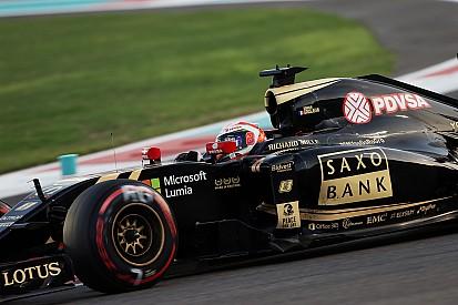 Grosjean relégué en dernière ligne à Abu Dhabi