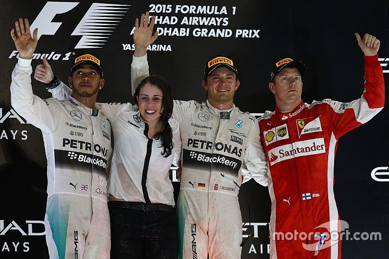 Rosberg vence a 3ª seguida em GP morno em Abu Dhabi