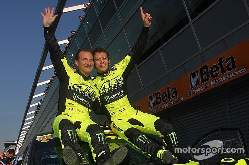 MotoGP-Superstar Valentino Rossi gewinnt Rally-Show in Monza